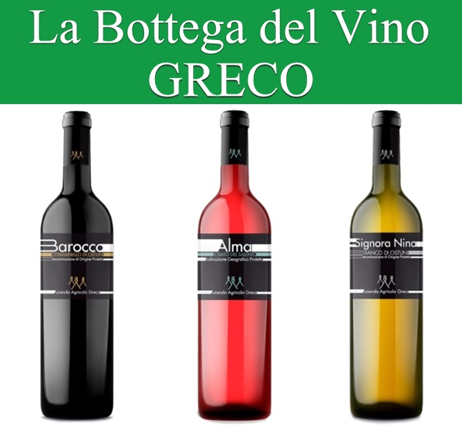 """La Bottega del Vino """"Greco"""""""
